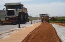 Stabilization of Mine Access Road