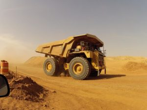 Pit and Mine Haul road dust control