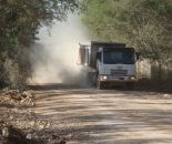 Dust Suppression for Cement Plant Access Road
