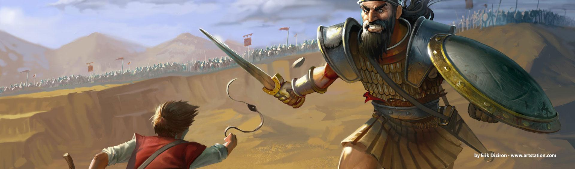 David & Goliath - The Art of Batteling Giants